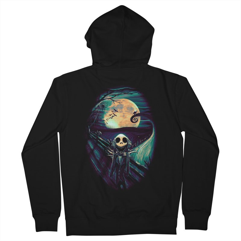 The Scream Before Christmas Men's French Terry Zip-Up Hoody by nicebleed