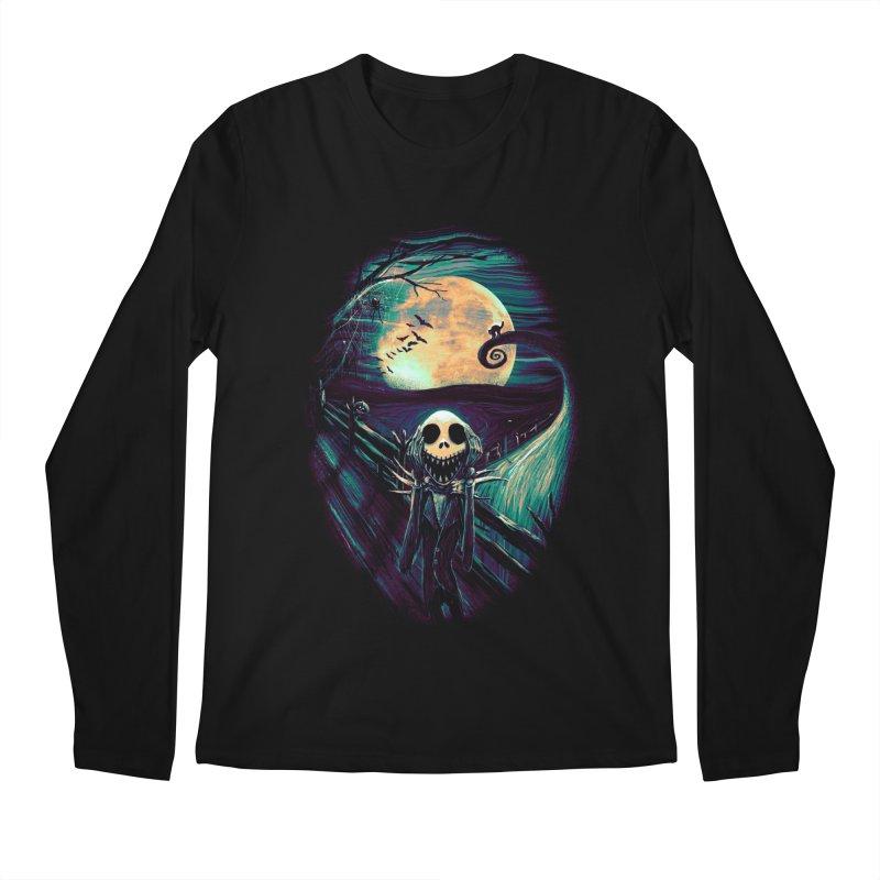 The Scream Before Christmas Men's Regular Longsleeve T-Shirt by nicebleed