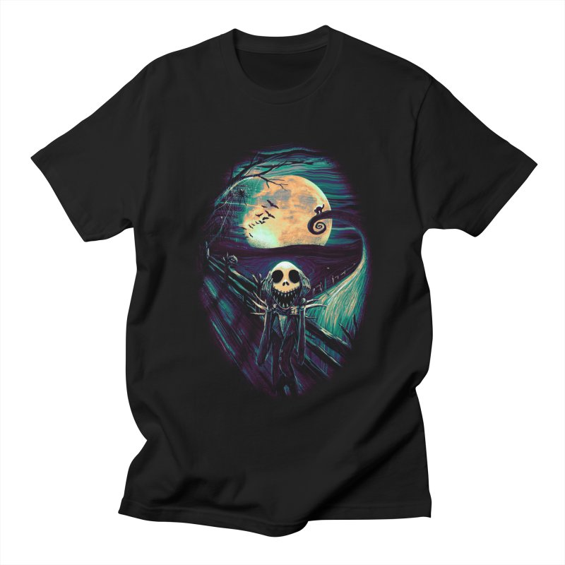 The Scream Before Christmas Men's Regular T-Shirt by nicebleed