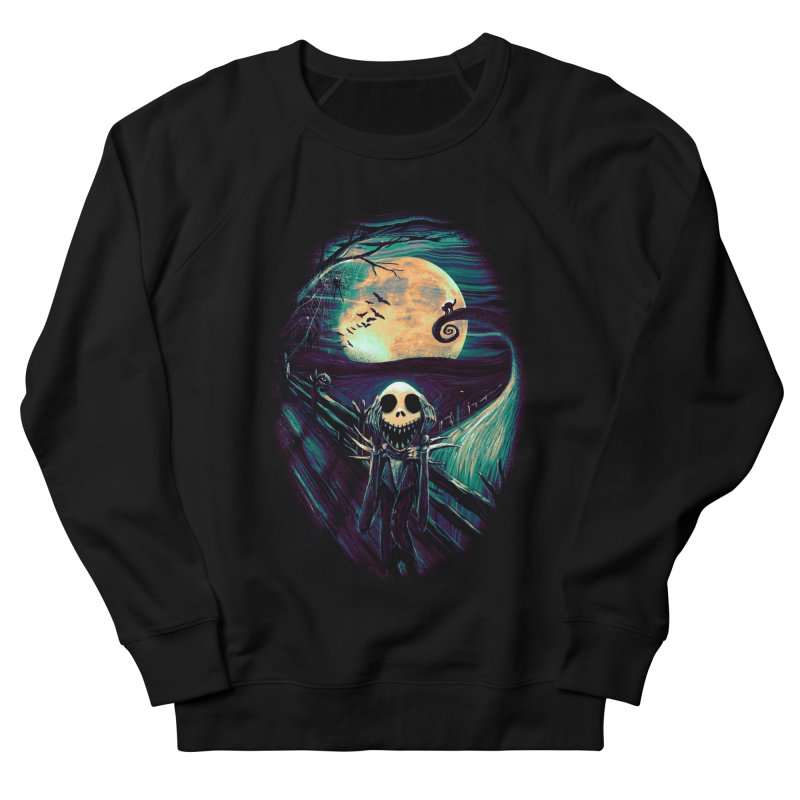 The Scream Before Christmas Women's French Terry Sweatshirt by nicebleed