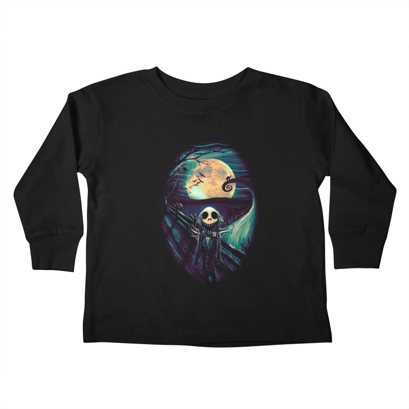 The Scream Before Christmas Kids Toddler Longsleeve T-Shirt by nicebleed