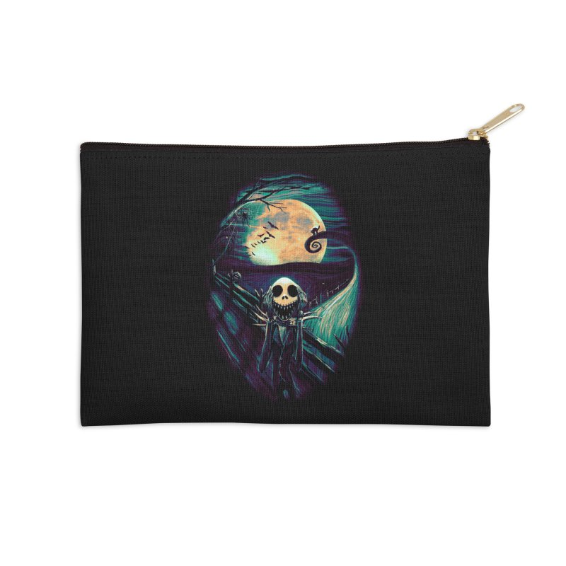 The Scream Before Christmas Accessories Zip Pouch by nicebleed
