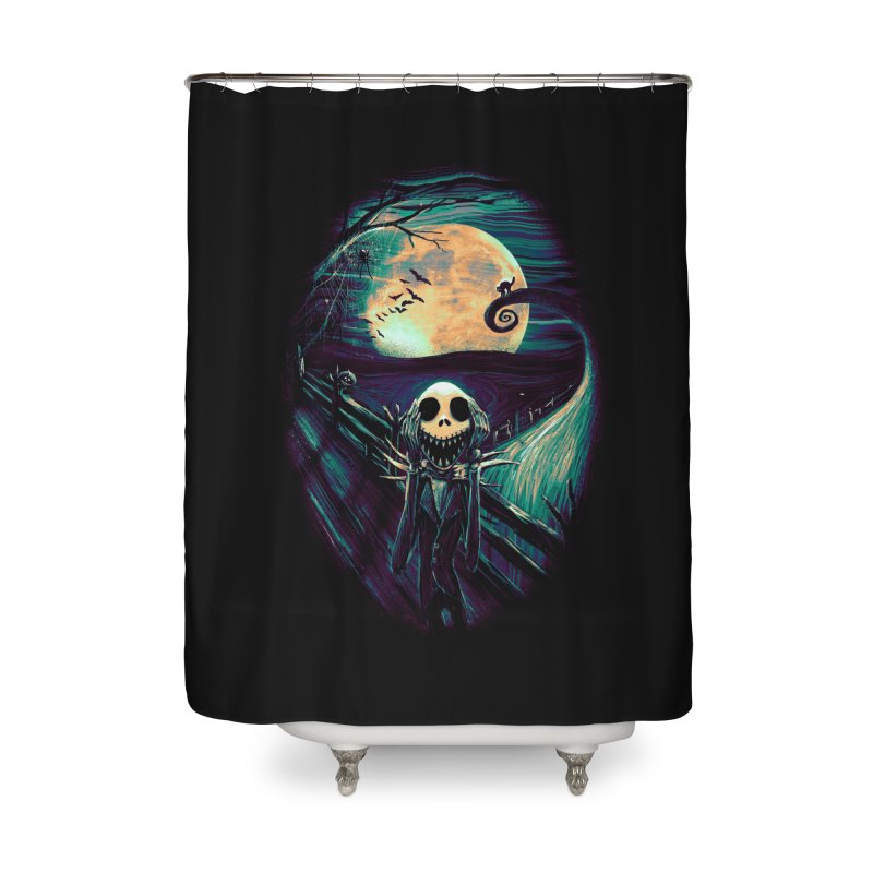 The Scream Before Christmas Home Shower Curtain by nicebleed