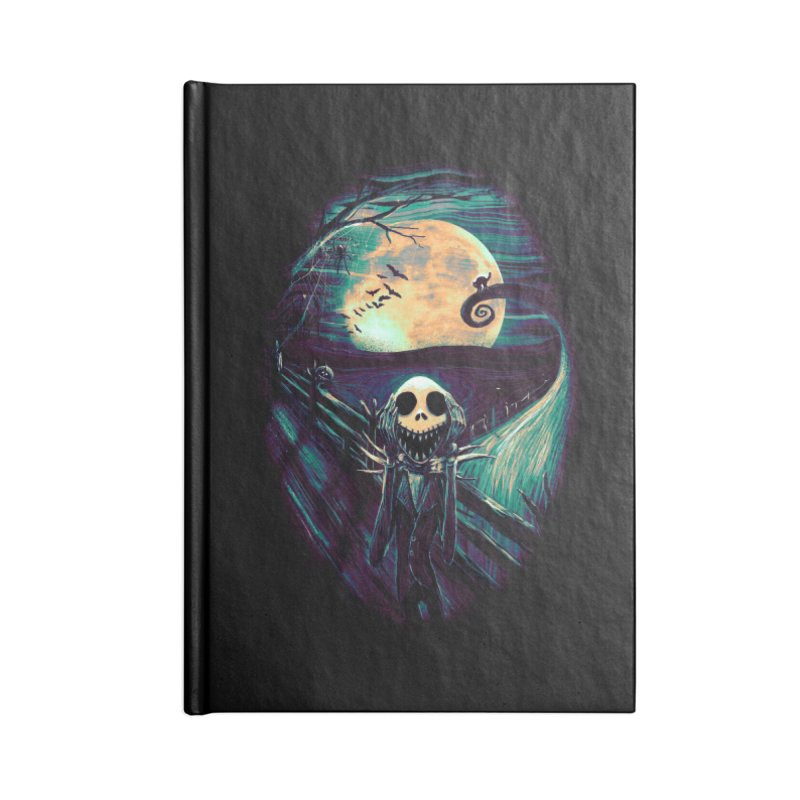 The Scream Before Christmas Accessories Notebook by nicebleed