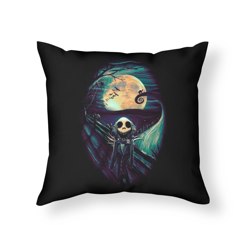 The Scream Before Christmas Home Throw Pillow by nicebleed