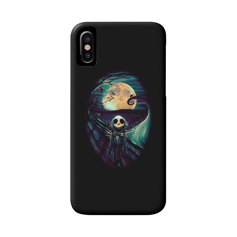 The Scream Before Christmas Accessories Phone Case by nicebleed