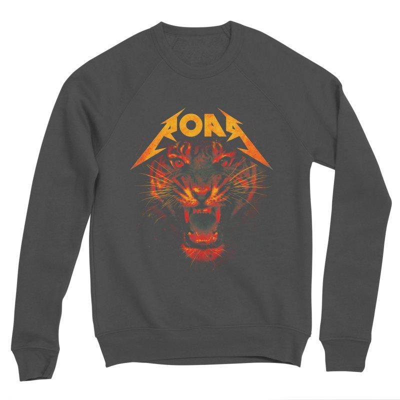 Roar Men's Sponge Fleece Sweatshirt by nicebleed