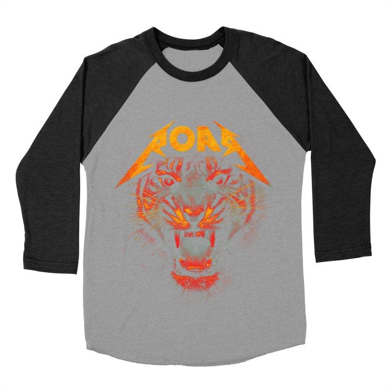Roar Men's Baseball Triblend Longsleeve T-Shirt by nicebleed