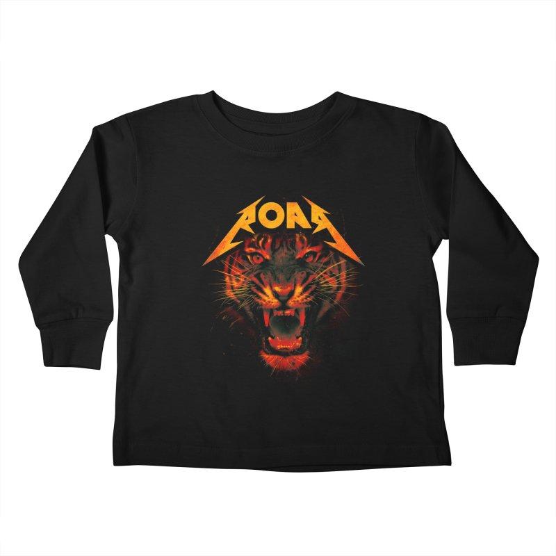 Roar Kids Toddler Longsleeve T-Shirt by nicebleed