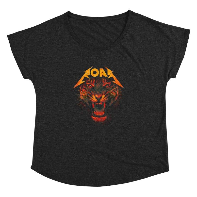 Roar Women's Dolman Scoop Neck by nicebleed