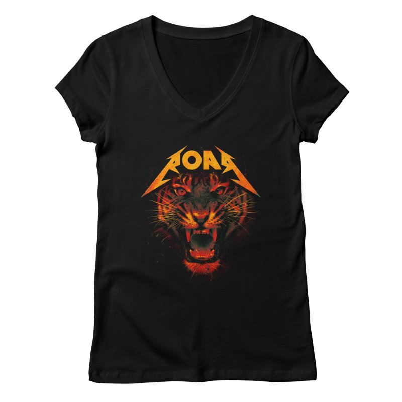 Roar Women's Regular V-Neck by nicebleed