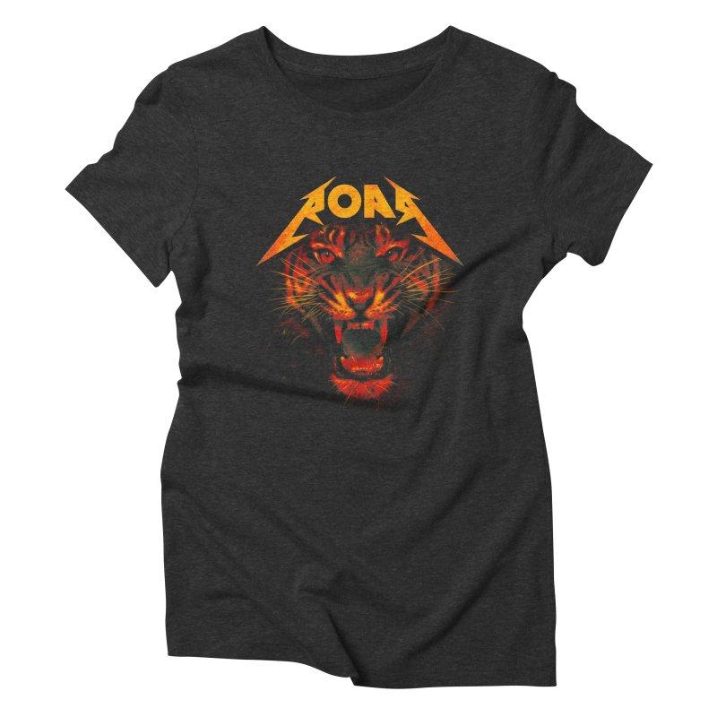 Roar Women's Triblend T-Shirt by nicebleed