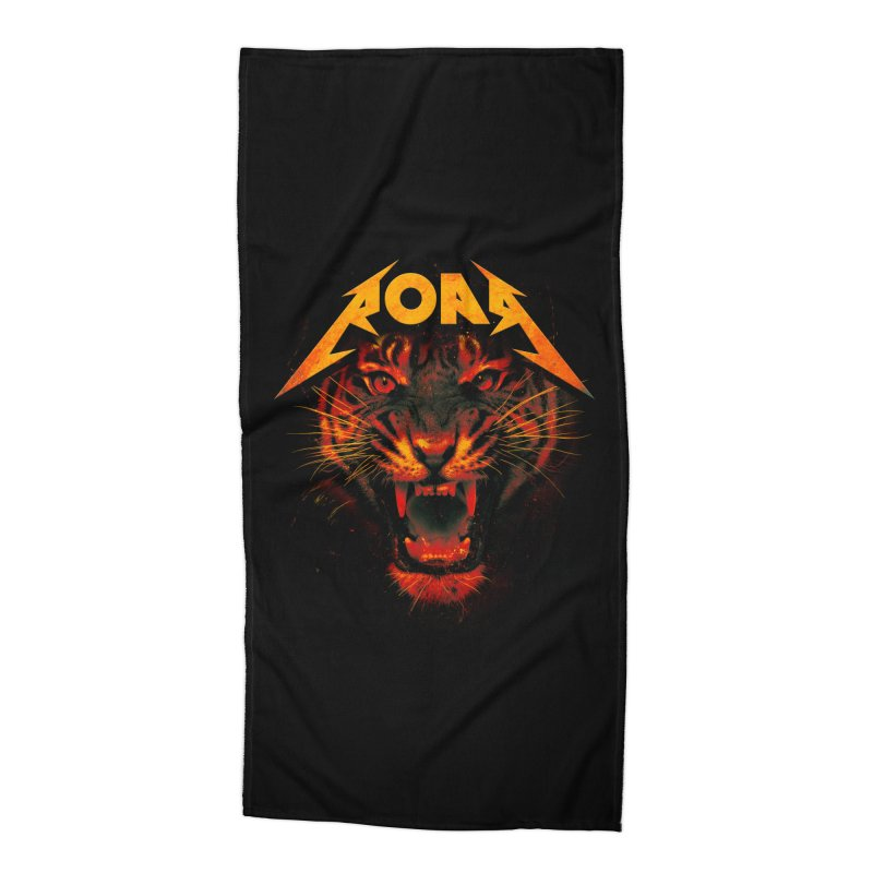 Roar Accessories Beach Towel by nicebleed