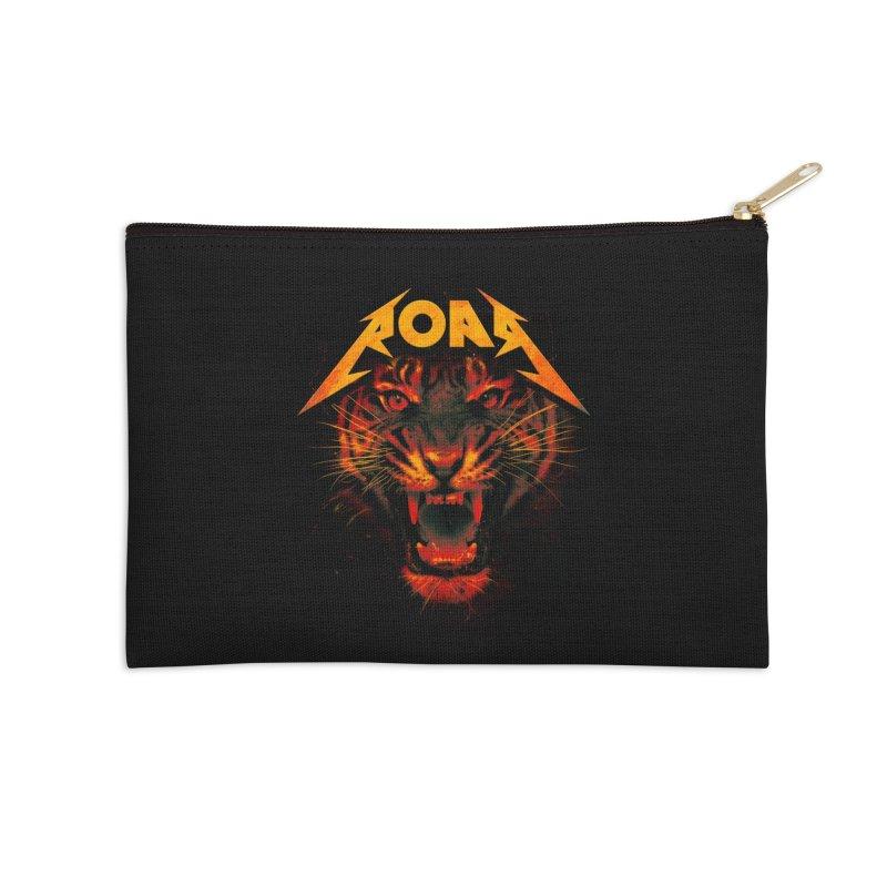 Roar Accessories Zip Pouch by nicebleed