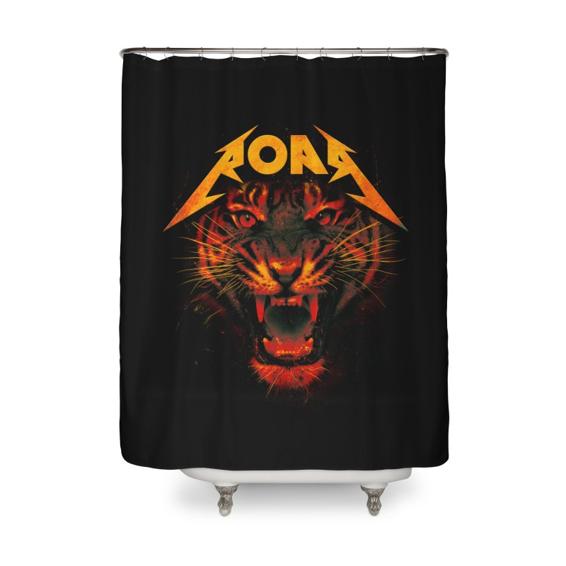 Roar Home Shower Curtain by nicebleed
