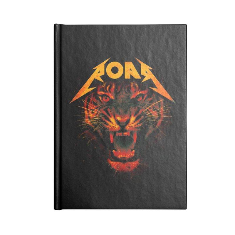 Roar Accessories Notebook by nicebleed