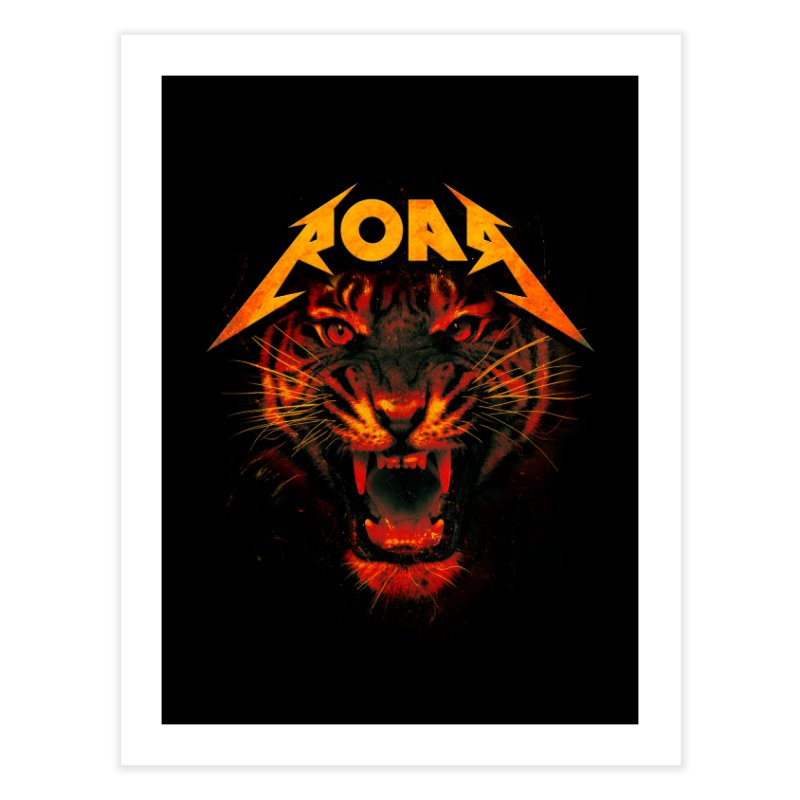 Roar Home Fine Art Print by nicebleed