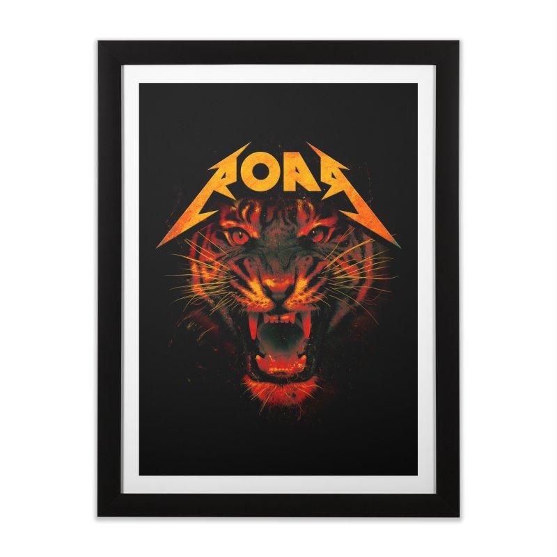 Roar Home Framed Fine Art Print by nicebleed