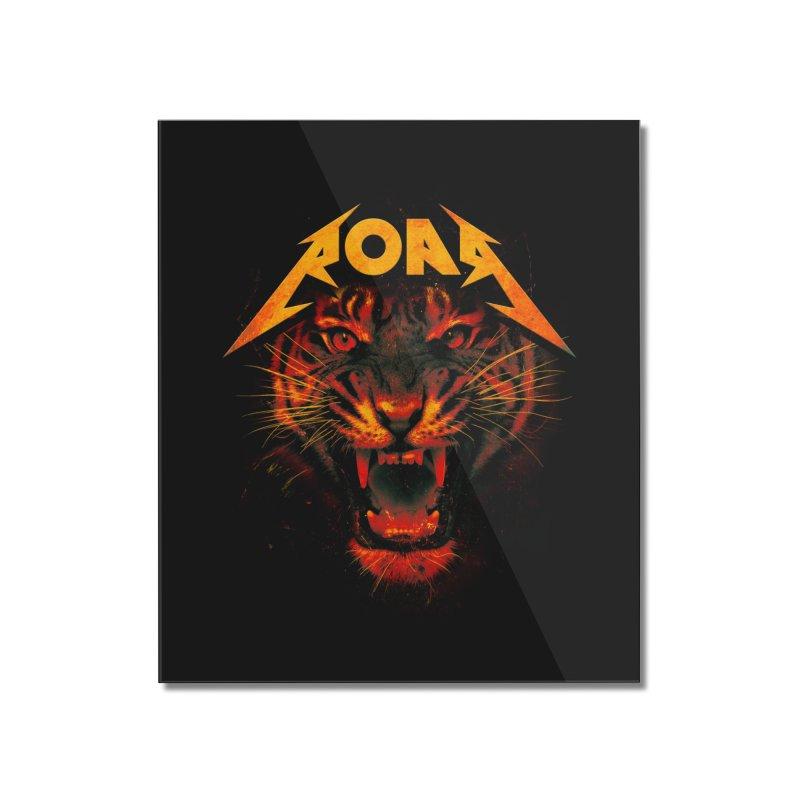 Roar Home Mounted Acrylic Print by nicebleed