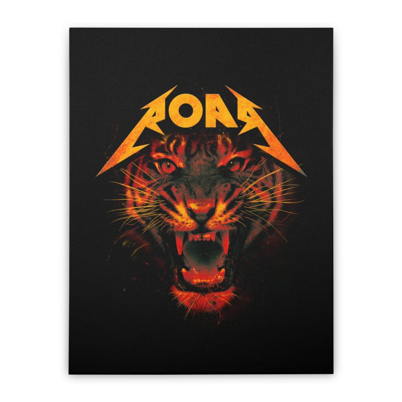 Roar Home Stretched Canvas by nicebleed
