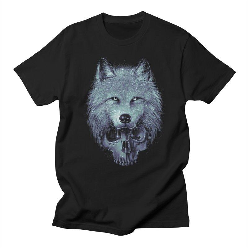Savage in Men's Regular T-Shirt Black by nicebleed