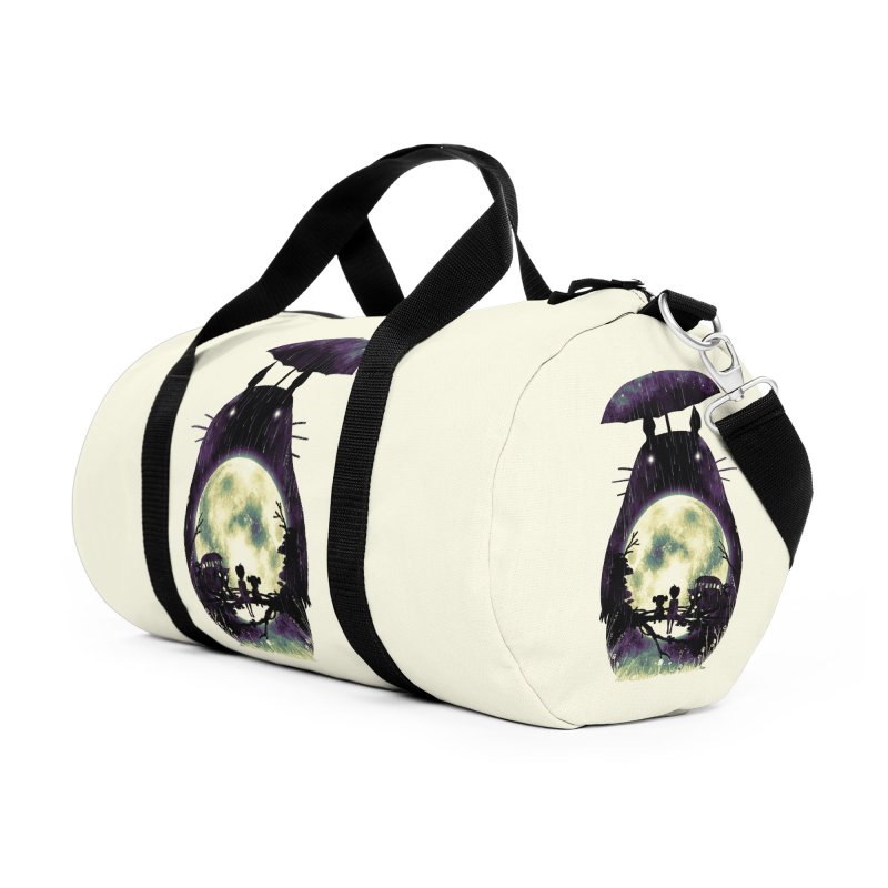 Totoro Accessories Duffel Bag Bag by nicebleed