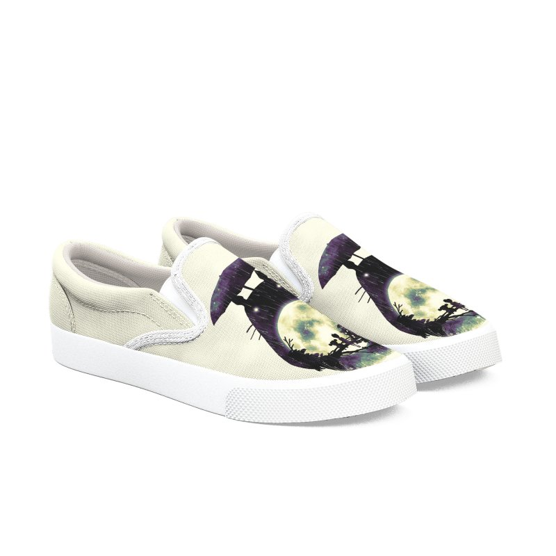 Totoro Women's Slip-On Shoes by nicebleed