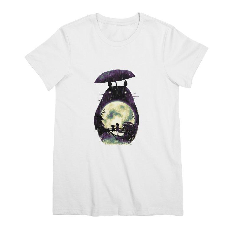 Totoro Women's Premium T-Shirt by nicebleed