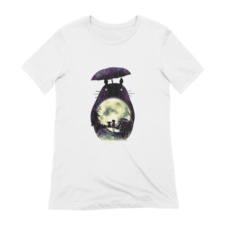 Totoro Women's Extra Soft T-Shirt by nicebleed