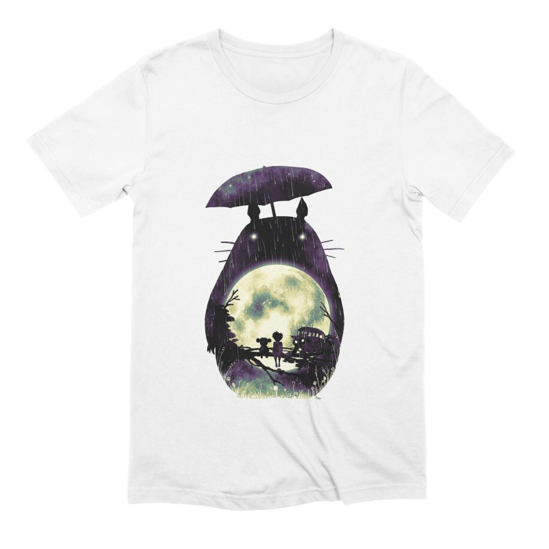 Totoro Men's Extra Soft T-Shirt by nicebleed