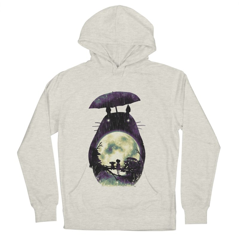 Totoro Men's French Terry Pullover Hoody by nicebleed