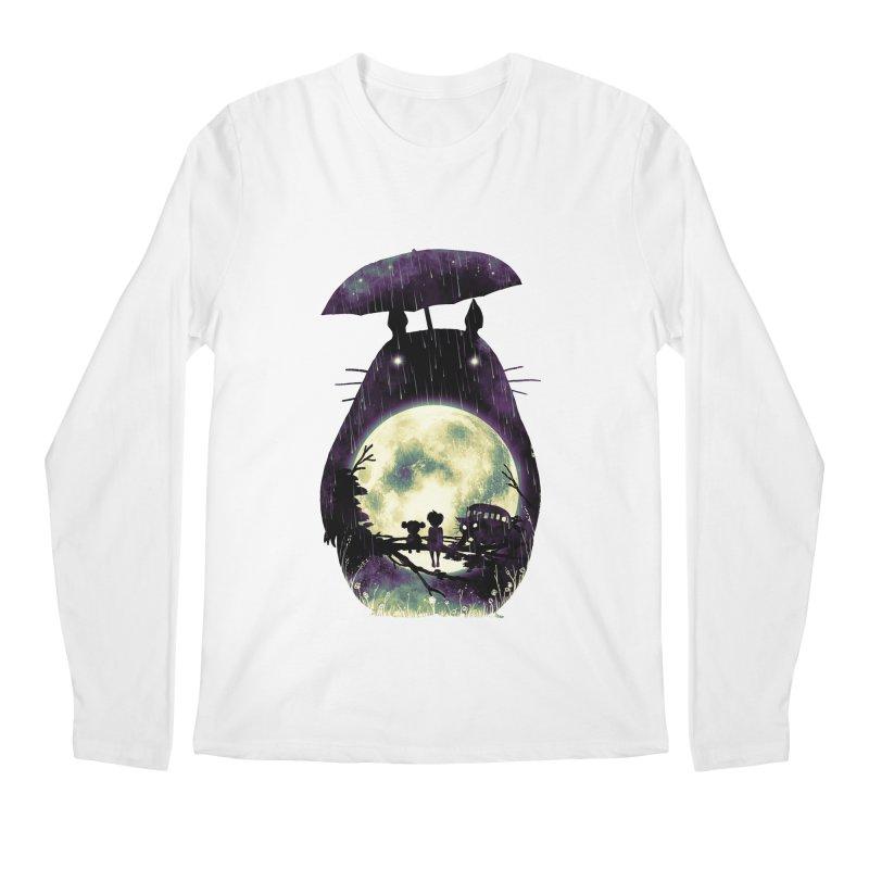 Totoro Men's Regular Longsleeve T-Shirt by nicebleed