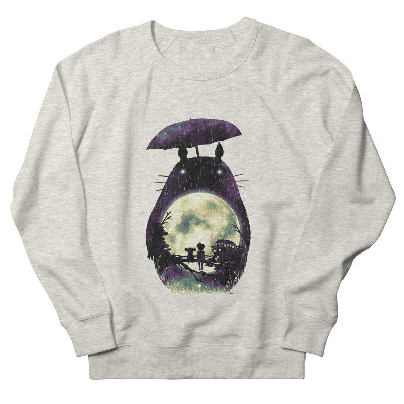 Totoro Men's French Terry Sweatshirt by nicebleed