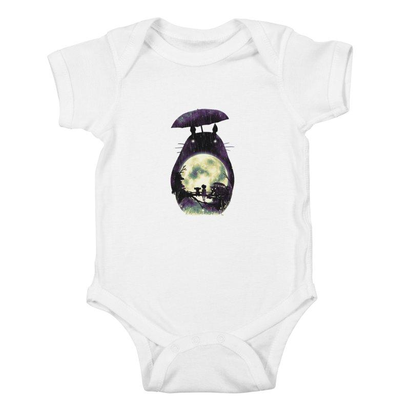 Totoro Kids Baby Bodysuit by nicebleed