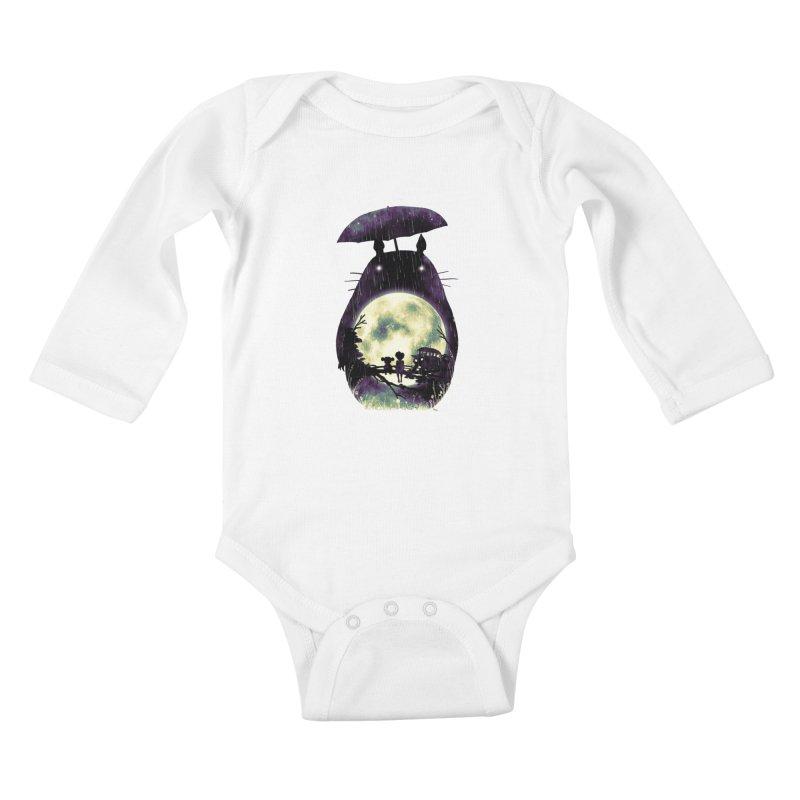 Totoro Kids Baby Longsleeve Bodysuit by nicebleed