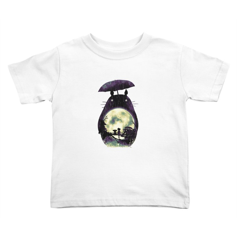 Totoro Kids Toddler T-Shirt by nicebleed