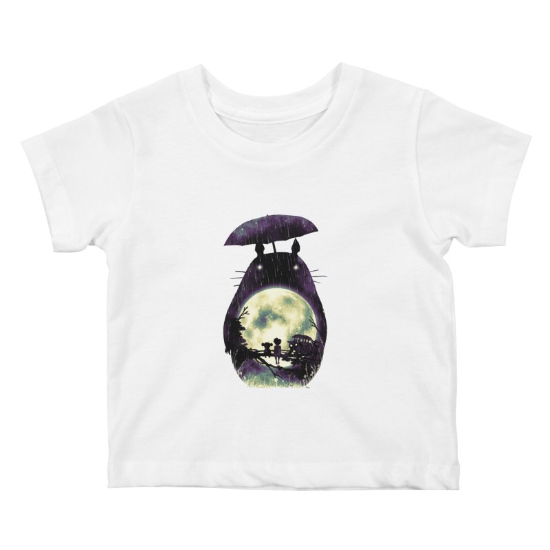 Totoro Kids Baby T-Shirt by nicebleed