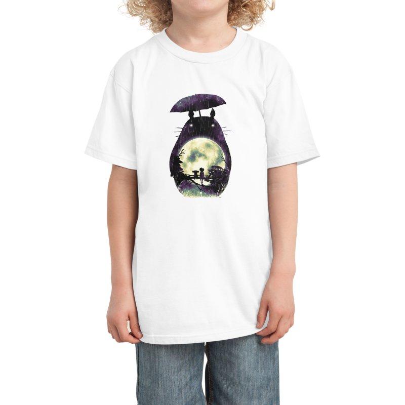 Totoro Kids T-Shirt by nicebleed