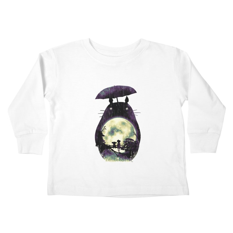 Totoro Kids Toddler Longsleeve T-Shirt by nicebleed