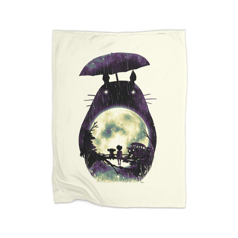 Totoro Home Blanket by nicebleed