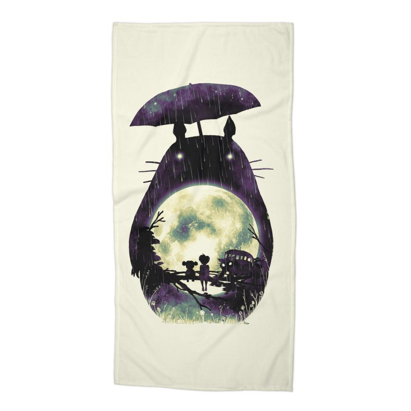 Totoro Accessories Beach Towel by nicebleed