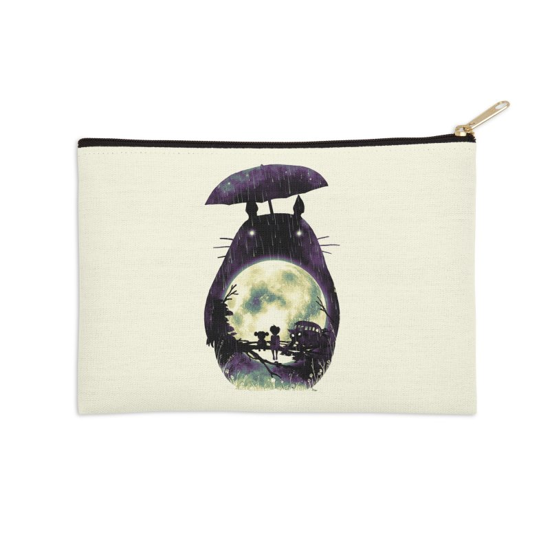Totoro Accessories Zip Pouch by nicebleed