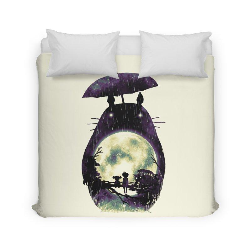 Totoro Home Duvet by nicebleed