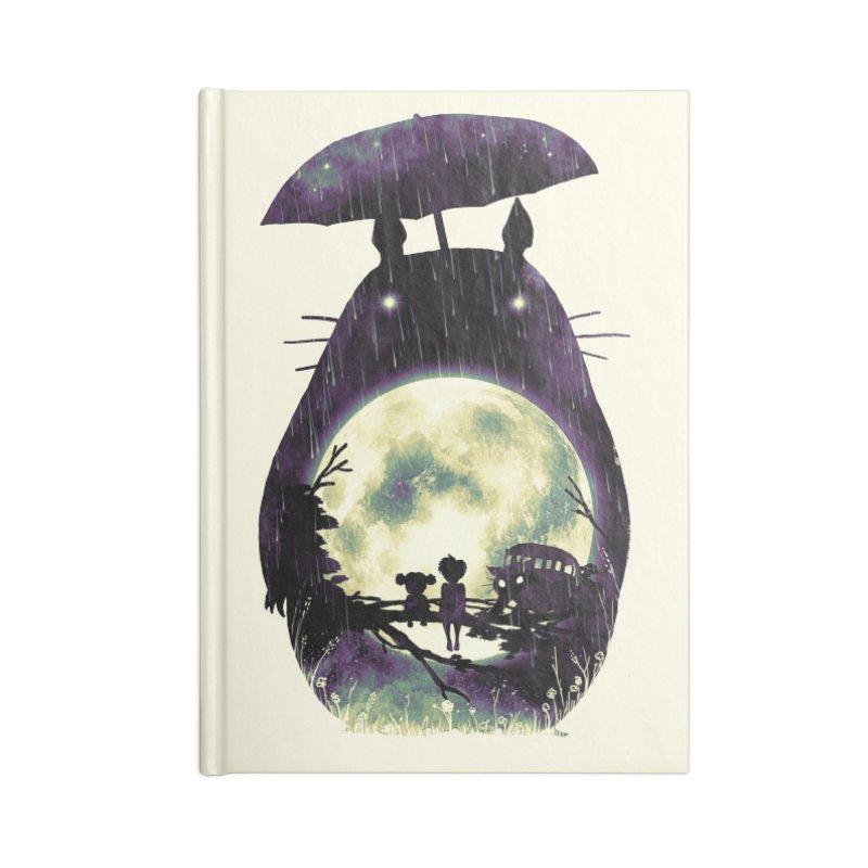 Totoro Accessories Notebook by nicebleed