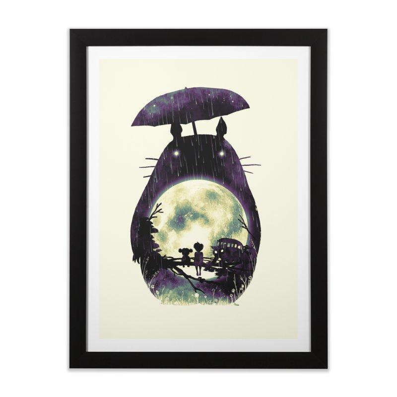 Totoro Home Framed Fine Art Print by nicebleed