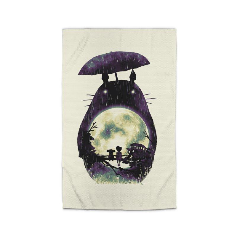 Totoro Home Rug by nicebleed