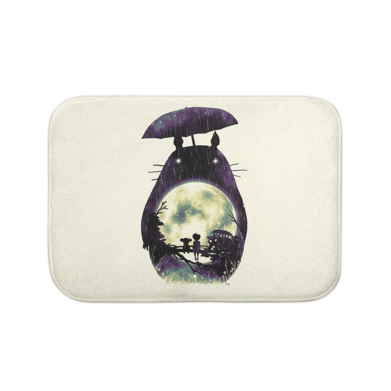 Totoro Home Bath Mat by nicebleed