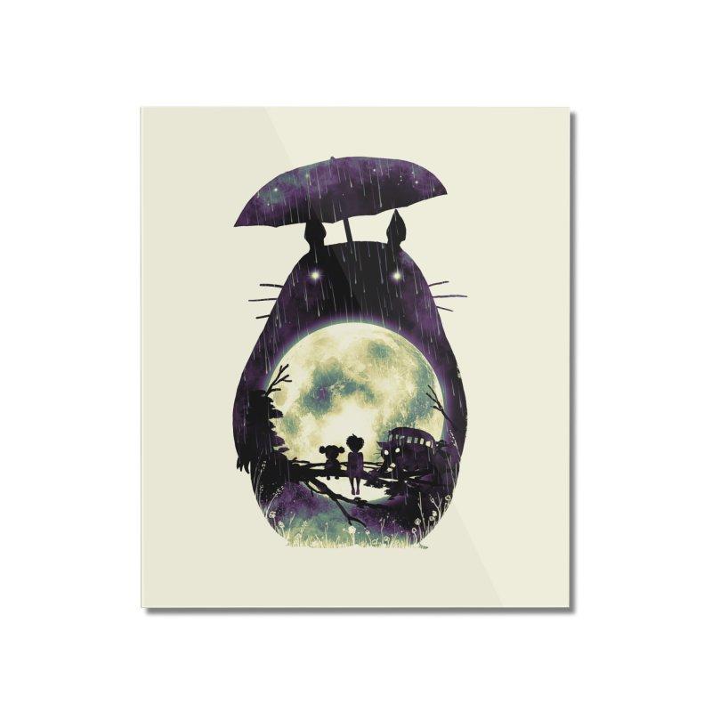 Totoro Home Mounted Acrylic Print by nicebleed