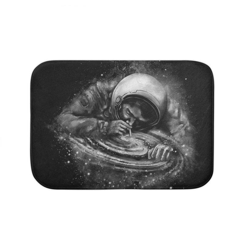 Space Junkie Home Bath Mat by nicebleed