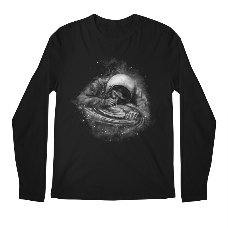 Space Junkie Men's Regular Longsleeve T-Shirt by nicebleed
